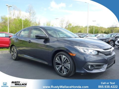 Certified Pre-Owned 2016 Honda Civic EX-L