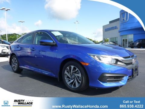 Certified Pre-Owned 2018 Honda Civic EX